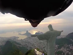 Wingsuit-Fly-By-Past-Rio's-