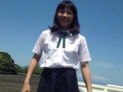 忍者女子高生-_-制服で大回転