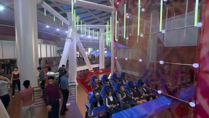 Skyscraper World's Tallest Roller Coaster POV - Skyplex Orlando.mp4_000036000