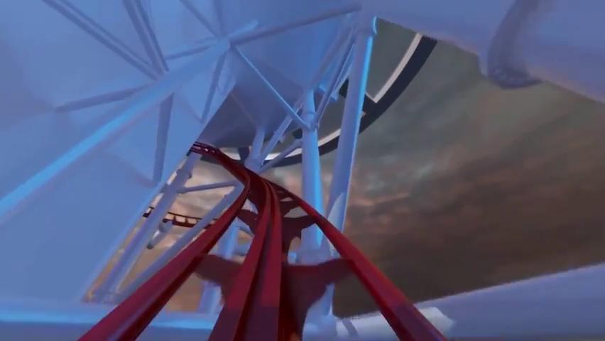 Skyscraper World's Tallest Roller Coaster POV - Skyplex Orlando.mp4_000071233