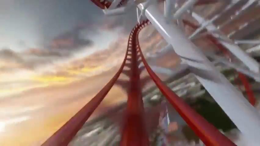 Skyscraper World's Tallest Roller Coaster POV - Skyplex Orlando.mp4_000164533