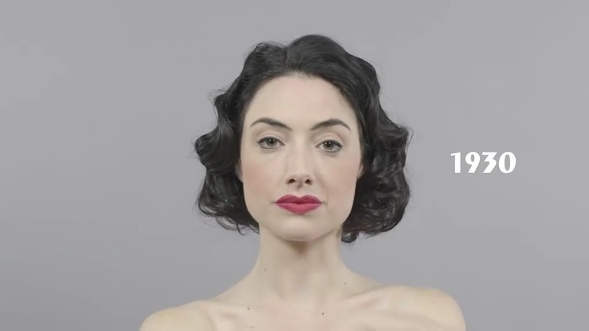 100 Years of Beauty in 1 Minute.mp4_000019477