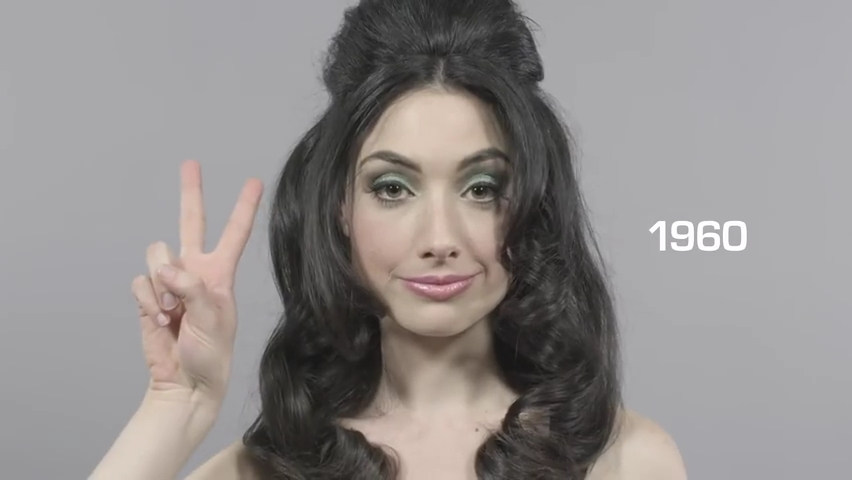 100 Years of Beauty in 1 Minute.mp4_000037412