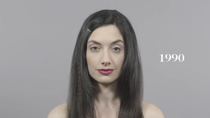 100 Years of Beauty in 1 Minute.mp4_000057599